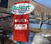 Re-Store sign, Springfield, MA