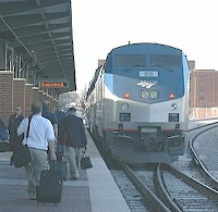 Amtrak Train Service in Springfield, MA